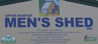 UPPER HUNTER MEN'S SHED