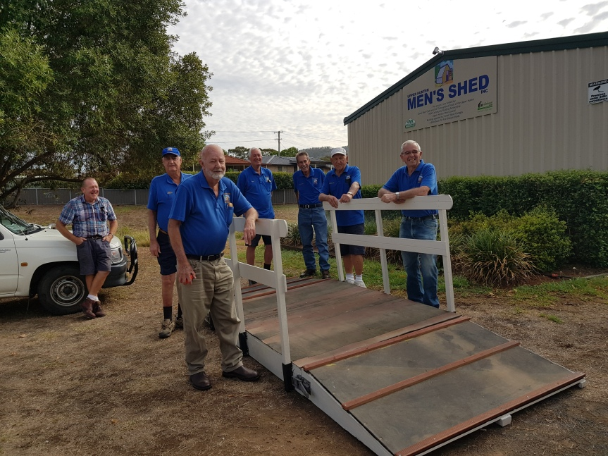 Thanks Be To The Men's Shed!!